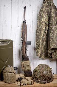 U.s. military equipment of world war ii