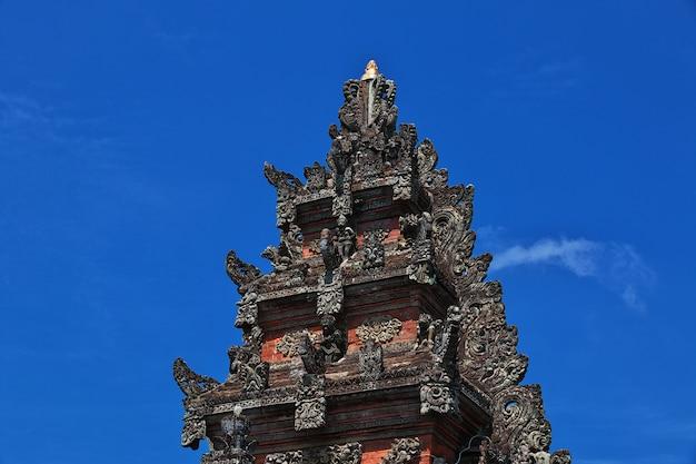 Ubud temple on bali island, indonesia