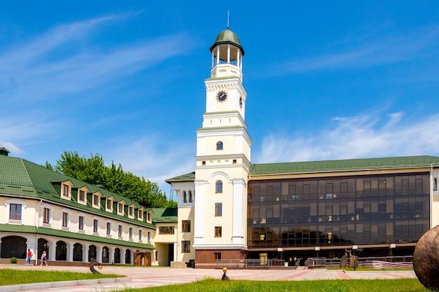 Ukraine, ostrog. june 2020. new building of the national university