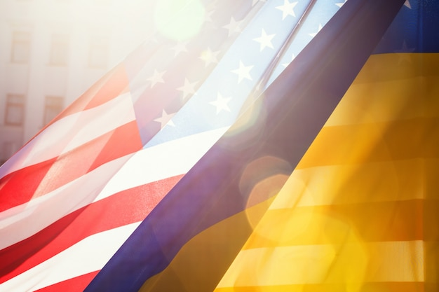 Ukraine and usa alliance