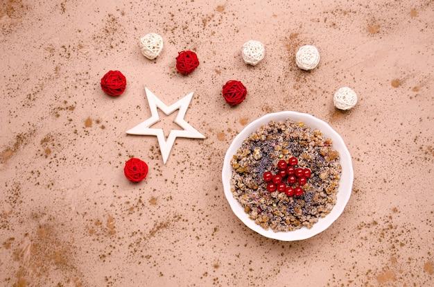 Украинская рождественская кутья на праздничном столе