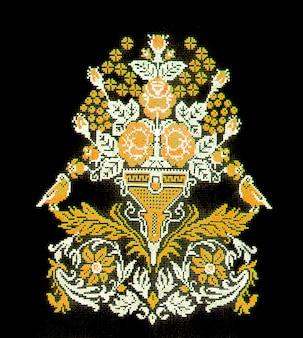 Украинская вышивка, народные промыслы и промыслы