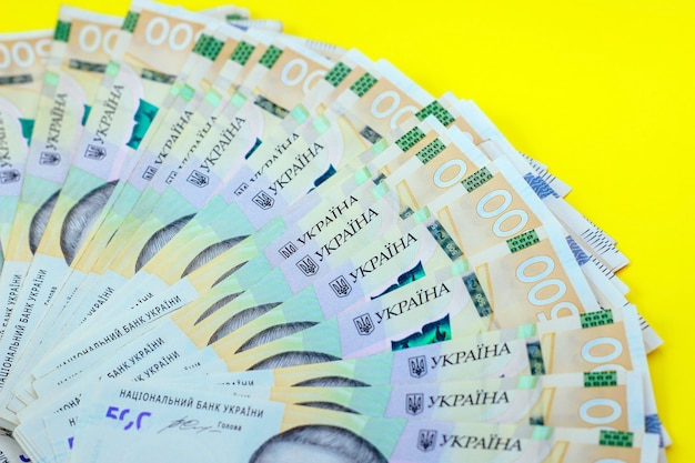 우크라이나 화폐 그리브냐, 500 uah에 새 지폐