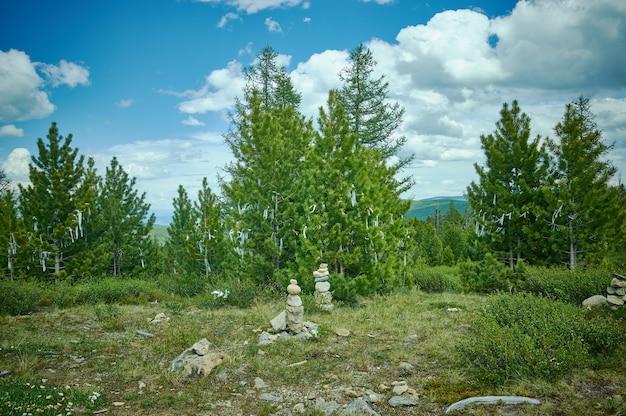 Улаганский перевал, горный алтай