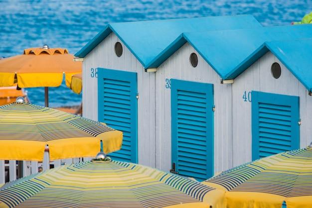 Umbrella in a beach resort