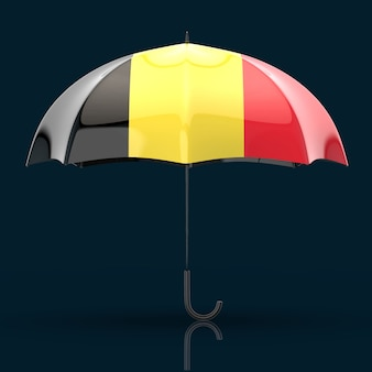 Концепция зонтика - 3d иллюстрации
