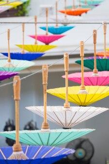 Umbrella on decoration