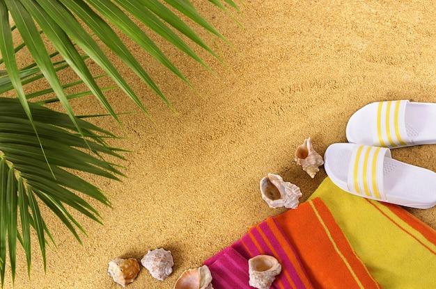 Под пальмой на пляже