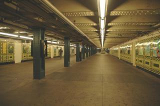 Underground, trains