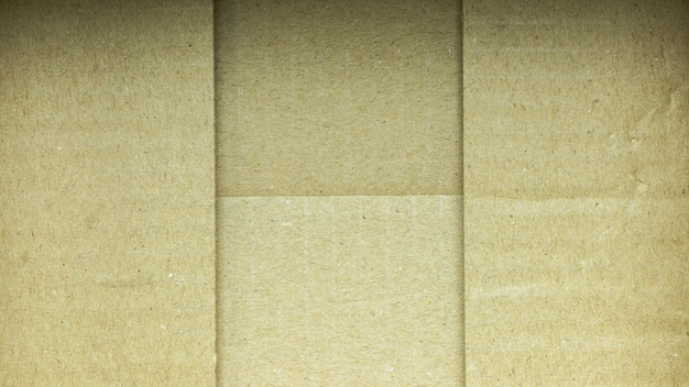 Underside of a brown paper box
