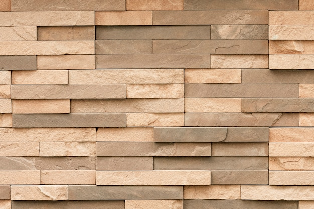 Uneven sandstone tile for wall surface