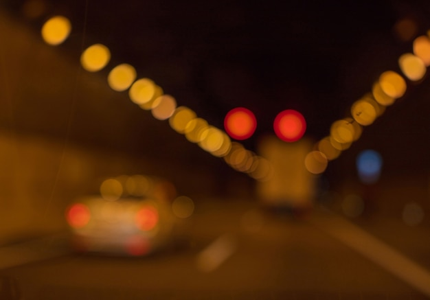 Unfocused background. road concept