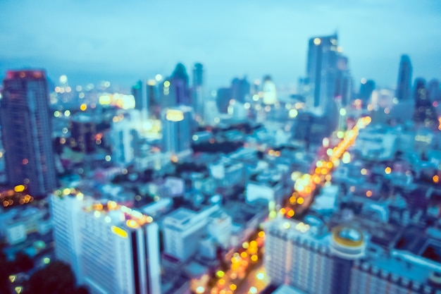 Unfocused city