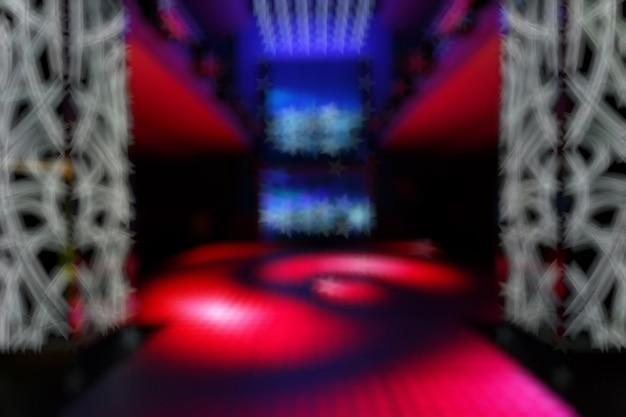 Нецеленаправленных запись дискотека с красным преобладанием