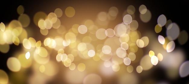 어둠에 산만 된 황금 빛