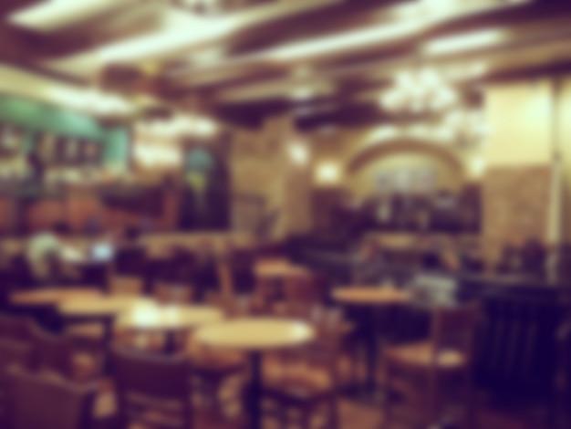 Unfocused tavern