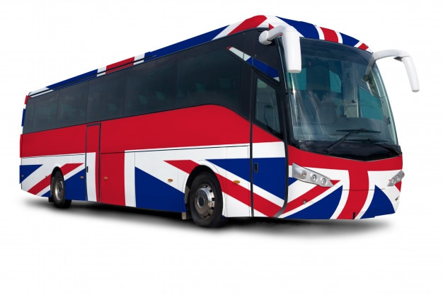 United kingdom bus - travel and vacation
