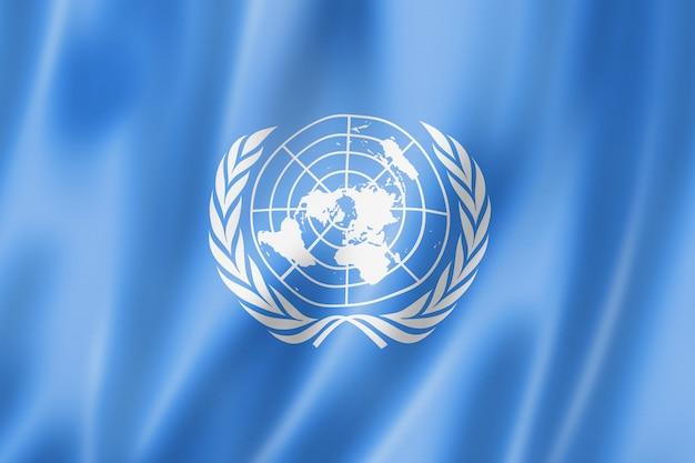 유엔 깃발