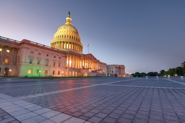 The united states capitol building in washington dc, united states of america
