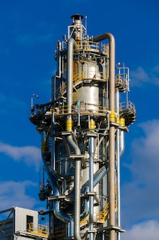 Units for nitric acid production on fertilizer plant