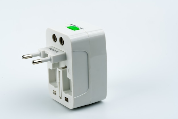 Universal plug adapters for travel around the world