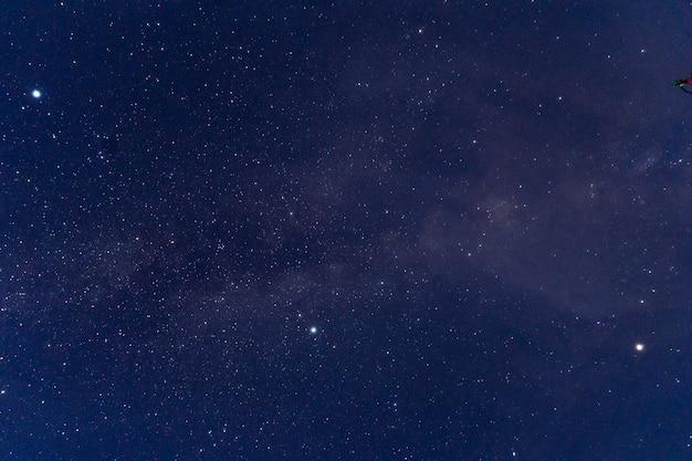 Universe filled with stars, nebula and galaxy, use