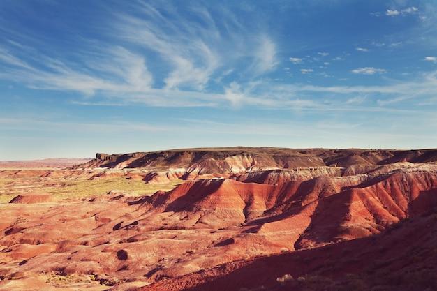 유타, 미국의 특이한 황무지 풍경