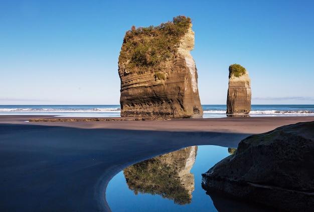 珍しい大聖堂の入り江、コロマンデル半島、ニュージーランド