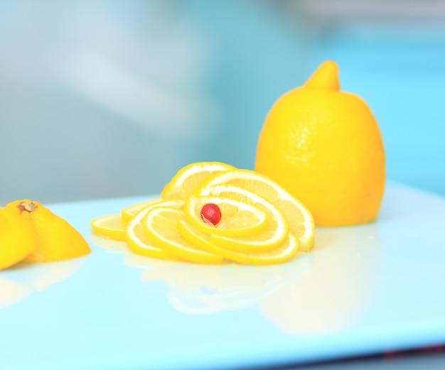 珍しいレモン