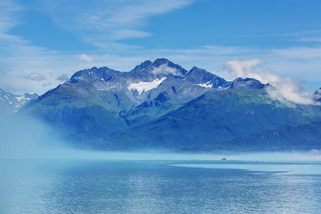 Unusual summer landscapes of alaska, united states.