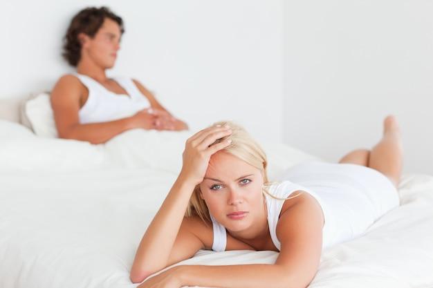 Расстроенная пара после аргумента