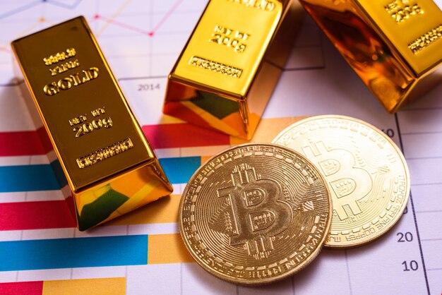 Upward evolution of bitcoin against the us dollar, in a crazy bull run.