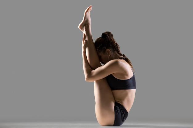 Upward facing forward bend