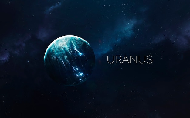 Uranus in space
