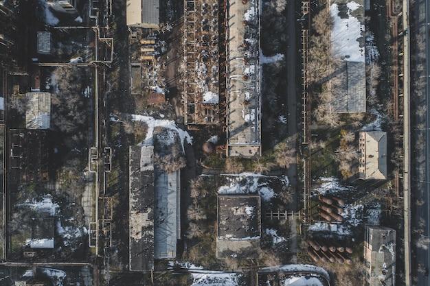 Urban abandoned factory