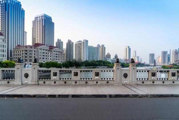 Urban architectural landscape in tianjin, china