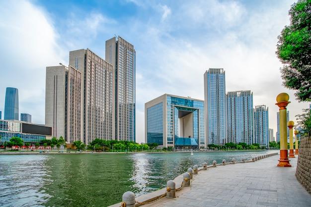 Urban architectural landscape in tianjin
