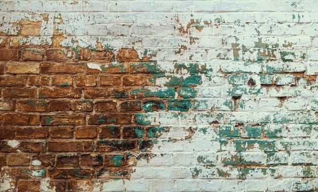 Urban background, grunge brick wall texture