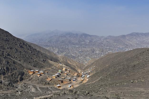 Городской беспорядок в районе лимы