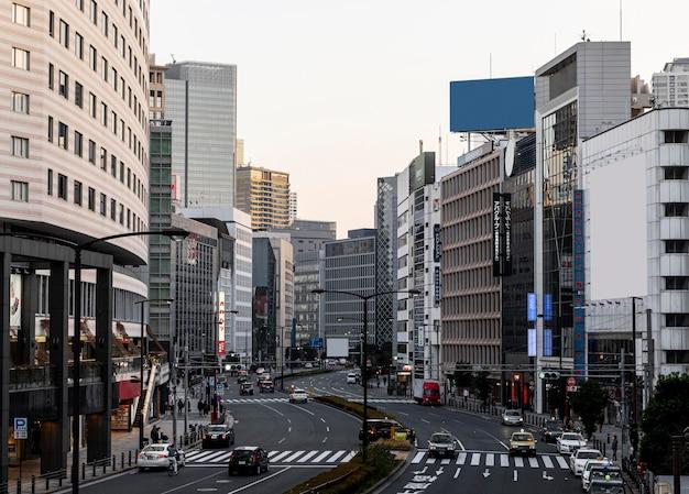 도시 풍경 일본 라이프 스타일