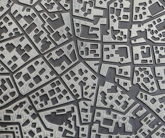 Urban map tile texture background