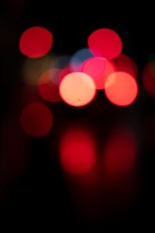 映画の美学の都会の神秘的な光