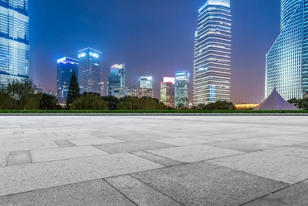 Городские дороги и городские современные здания