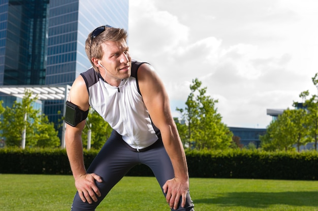 Urban sports - fitness in the city