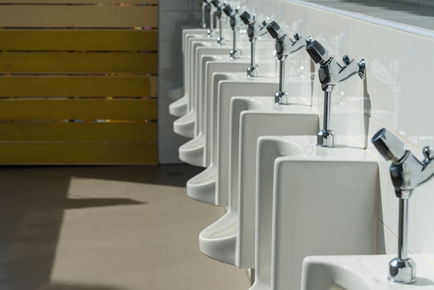 Urinal in the toilet