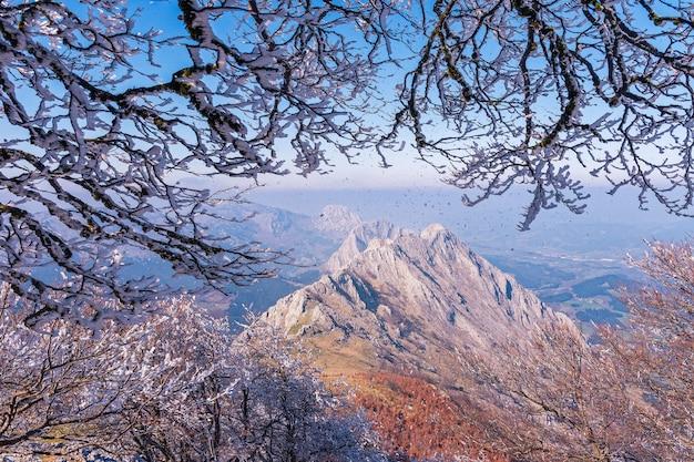 Urkiola's mountains view
