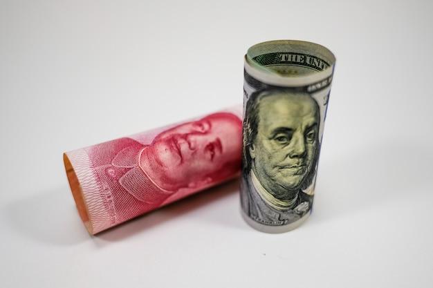 Us dollar banknote roll