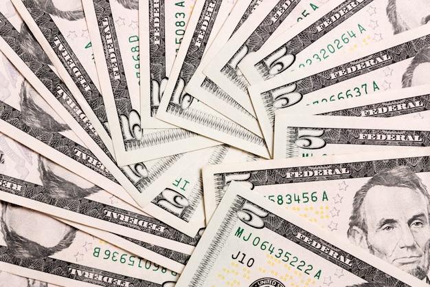 Us dollar bills. one hundred dollar bills