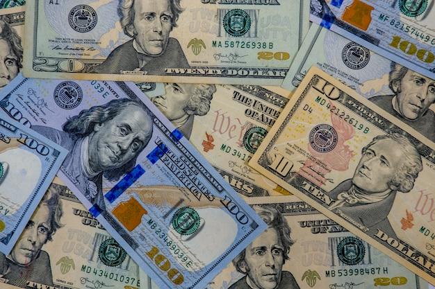 Us dollars banknote wallpaper background