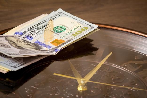 米ドルは大時計にあります